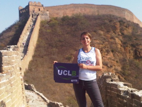 Emma on the Great Wall of China